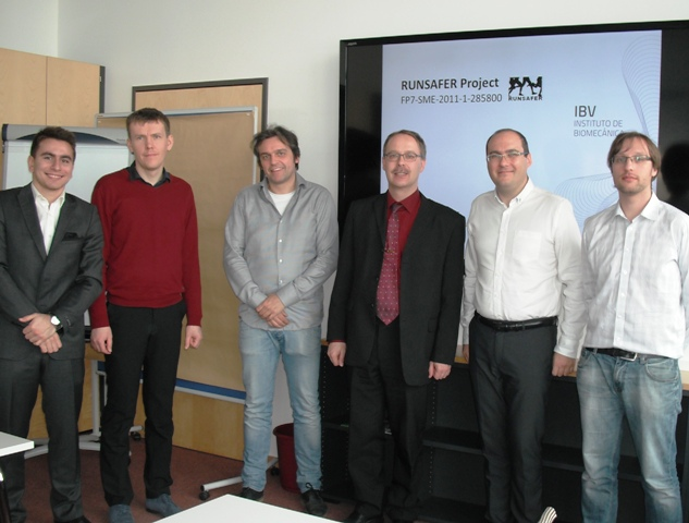 RUNSAFER Fourth Progress Meeting in Dresden